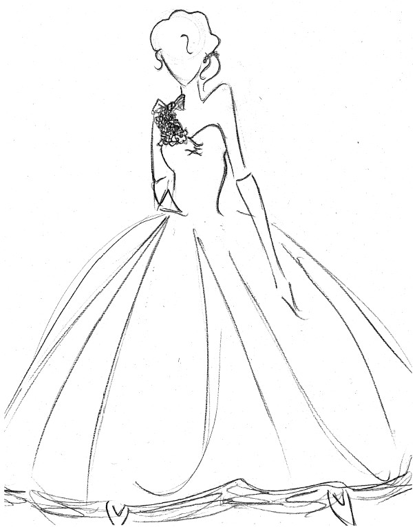 Wedding dresses flowers by rulime