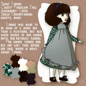 Lenore the Porcelain Doll