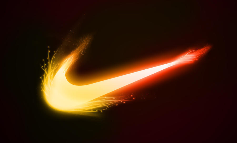 my version of the nike fire logo by plampii designs