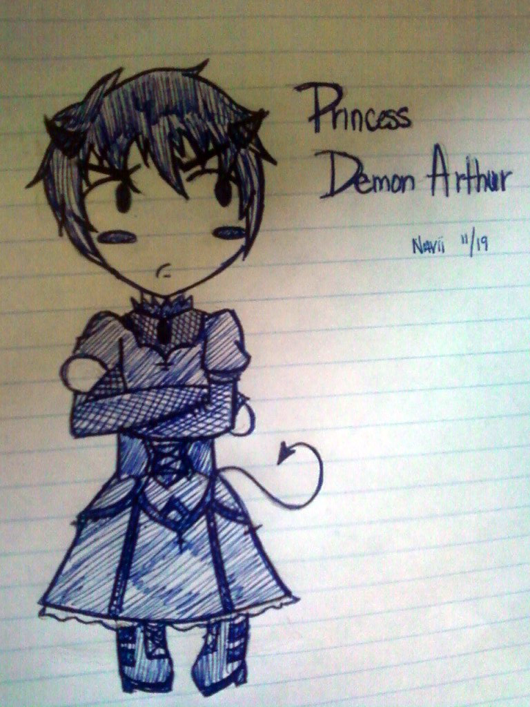 Princess Demon Arthur by navii16