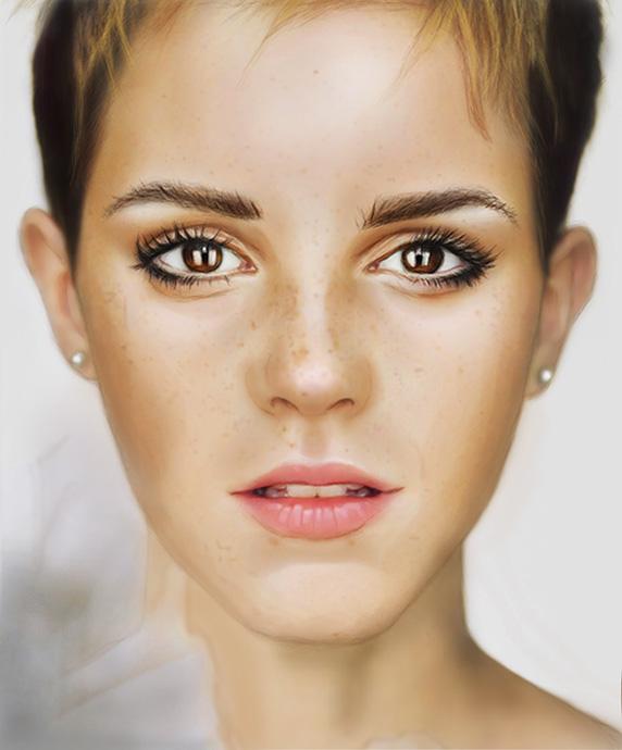 Emma Watson by Nessa-O