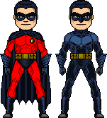 Dick Grayson by Xavier-the-Marvelous