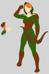 Archer concept WIP: Flat colors