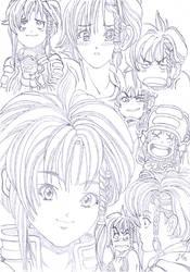 Karin Aoi, DNA-Agent by kaiserciv