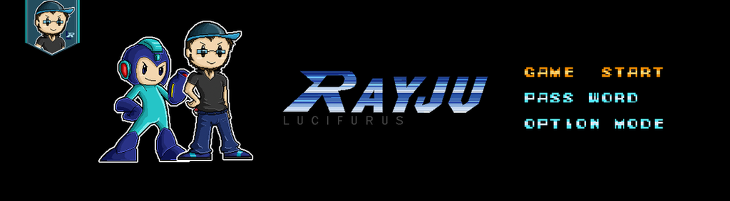 Banniere Youtube - Rayju Lucifurus by Sihame