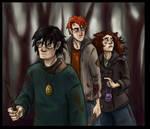 Deathly Hallows Trio