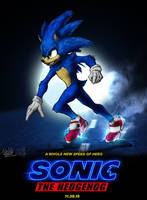 SONIC movie my Version 2019 by TOA316XDNUI-OFFICIAL