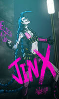 JINX COVER COMIC by TOA316XDNUI-OFFICIAL