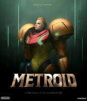 POSTER METROID THE MOVIE by TOA316XDNUI-OFFICIAL