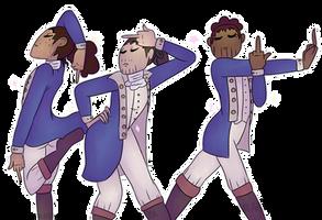 Gay Trio [Draw The Squad] by HerculesMulligan