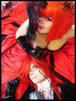 Kuroshitsuji: Grell and Madam by Prince-Lelouch