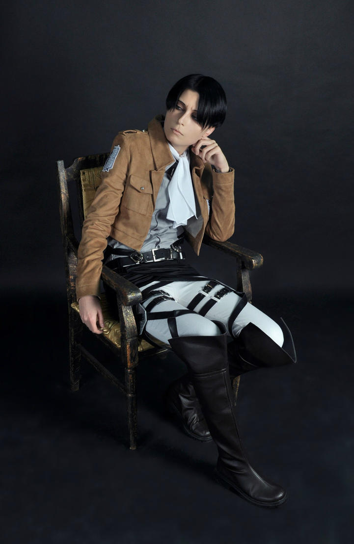 Levi cosplay-test by Prince-Lelouch