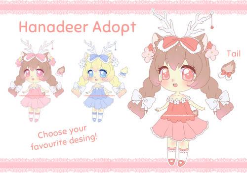 [CLOSED] Hanadeer Adopt #2 - Guest artist