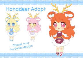 [OPEN] Hanadeer Adopt #3 - Guest Artist