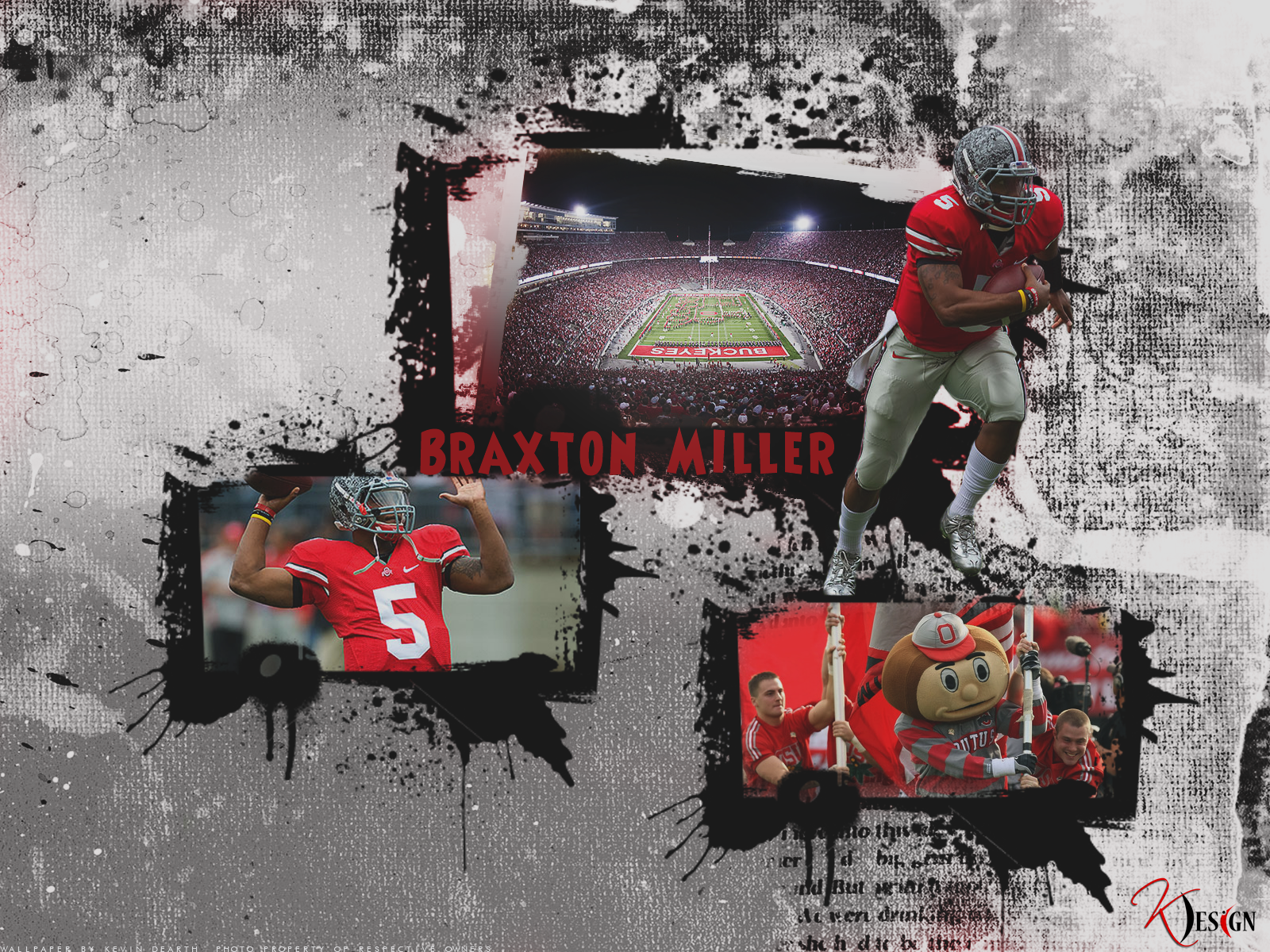 Braxton Miller Wallpaper by KevinsGraphics