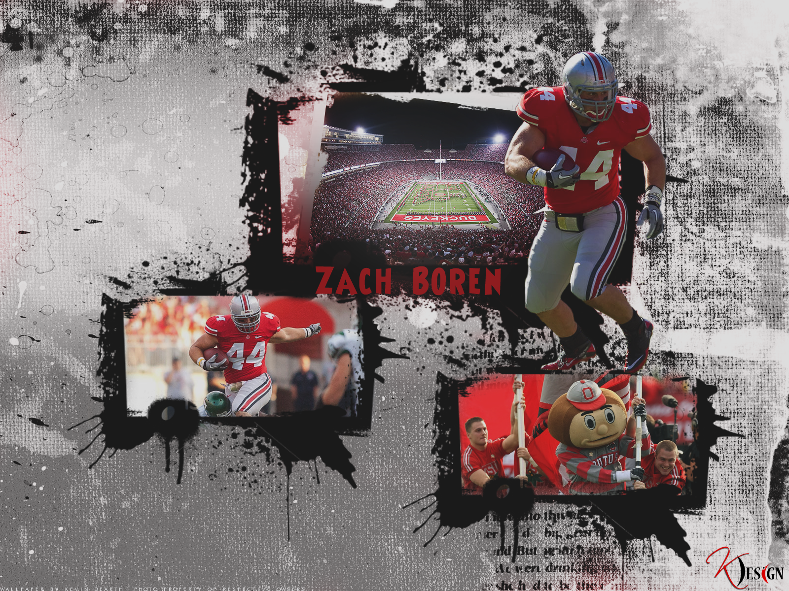Zach Boren Wallpaper by KevinsGraphics