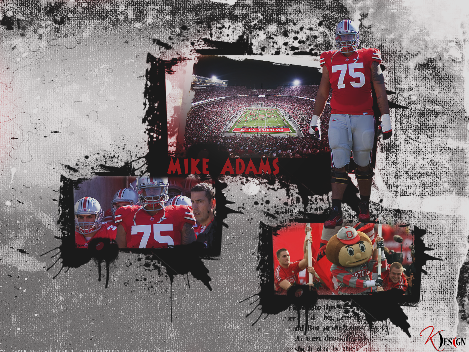 Mike Adams Wallpaper by KevinsGraphics