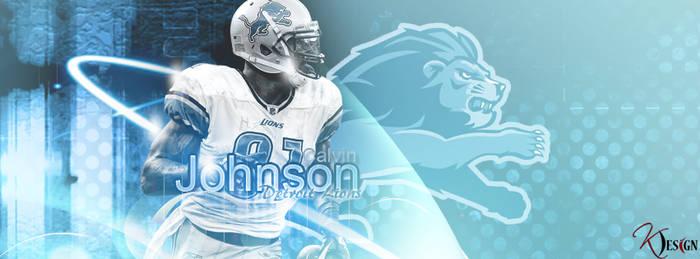 Calvin Johnson Banner