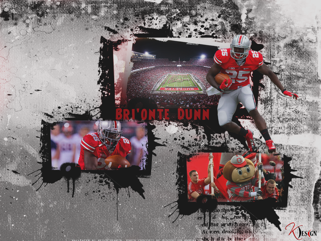 Bri'onte Dunn Wall by KevinsGraphics