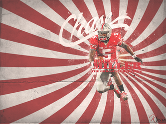 Braxton Miller The Chase Wall by KevinsGraphics