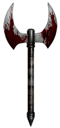 UMK3 Scorpion's axe by gabe687