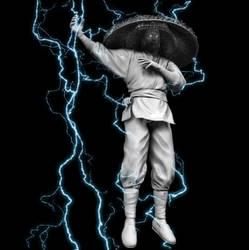 Raiden test render with lightning by gabe687