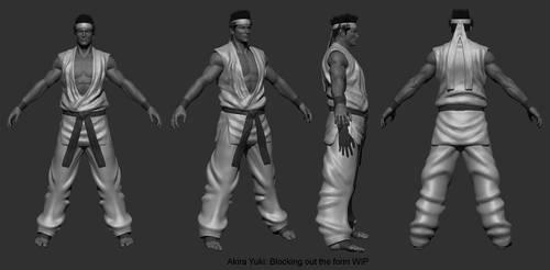 Akira Yuki Zsculpt wip 01