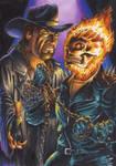Undertaker Vs Ghost Rider 1
