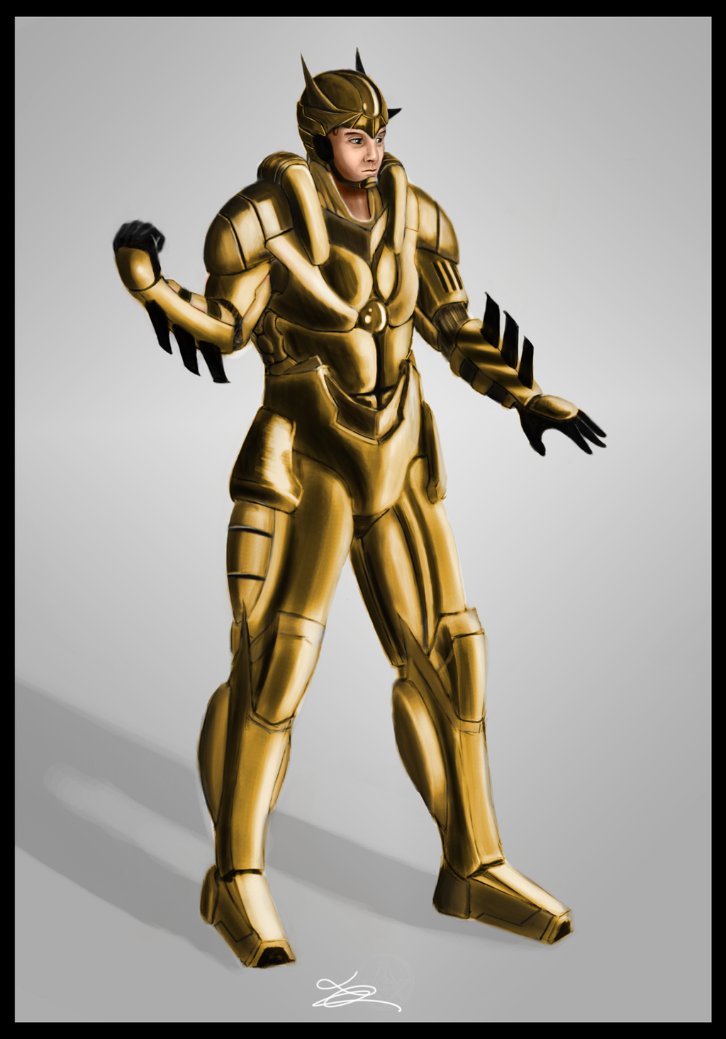 god u0027s soldier armor v 1 0 gold suit by chatelainlucart on deviantart