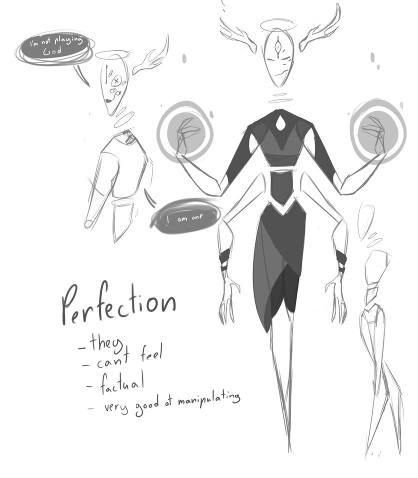 Perfection (oc Fusion) by VivianneSketch