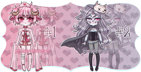 [CLOSED] Kemonomimi Body Horror Adopt Auction by grim-hatter