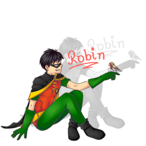 The Robins- A Late Birthday Gift by Tsukeo