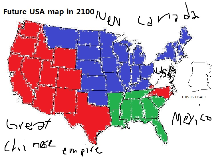 Future Map Of Usa Aahealthcare