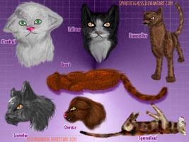 Fur trial- Warrior Cats by SpiritxTigress