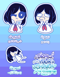 Draw your character - Time Challenge (my ver) by ShootingStar132005