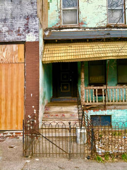Turquoise, West Philly