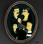 crossover: Simpsons/Addams