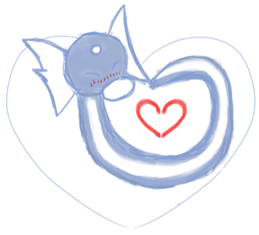 Dratini Heart by Airy-Eri