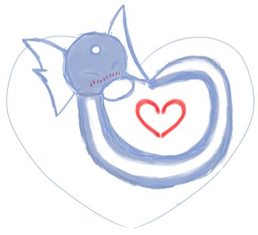 Dratini Heart by Airy-Eri
