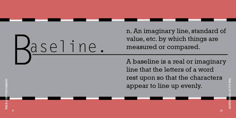 b is for baseline by happy-froggie