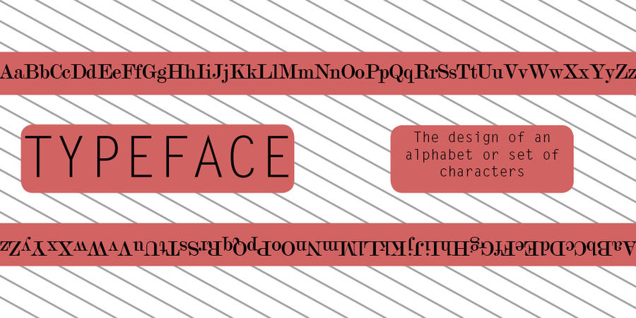 t is for typeface