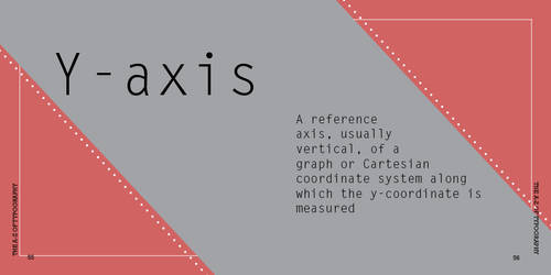 y is for y-axis