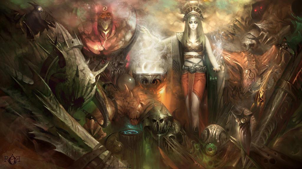 Princess Half Blood by TheRafa