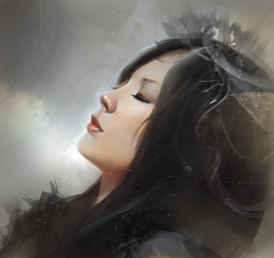 My Cinderella portrait by TheRafa