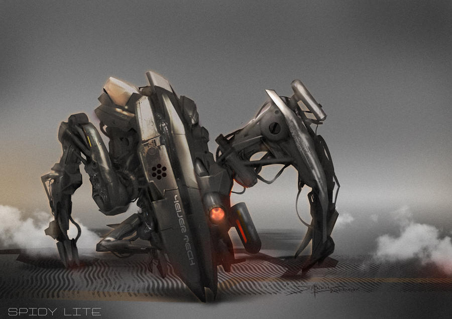 Spidy Robot by TheRafa