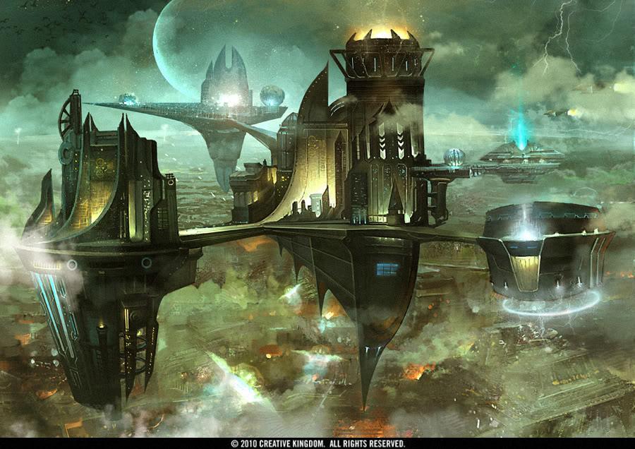 Floating City by TheRafa