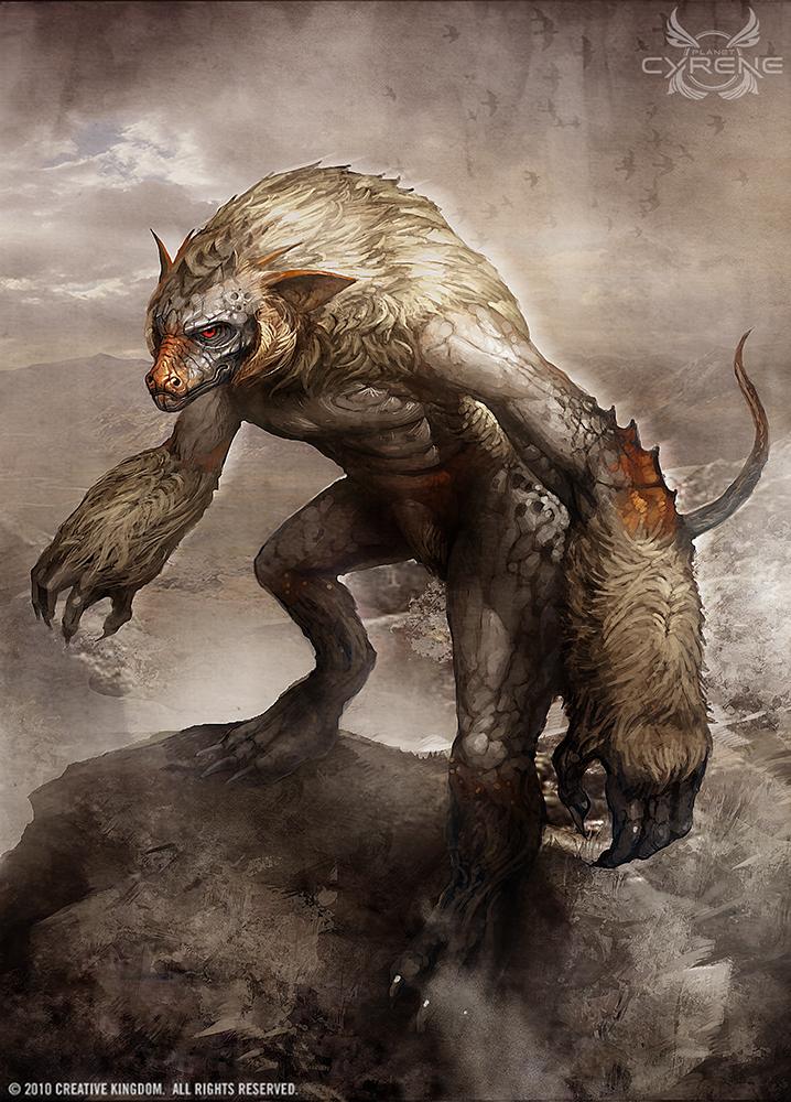 Baboon Lizard by TheRafa