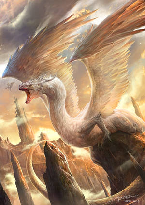 Dragon bird by TheRafaArts