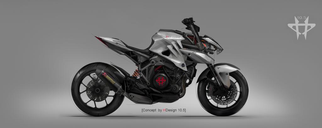 HDesign concept naked bike by TheRafa