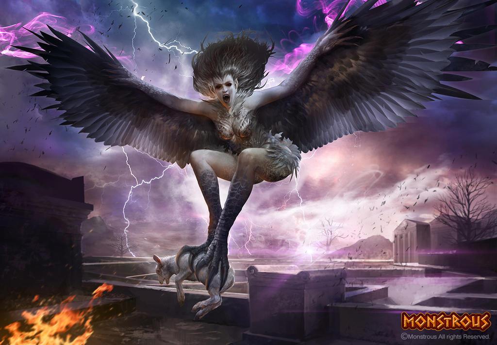 Harpy by TheRafa